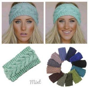 Accessories - Mint Green Knitted Headband